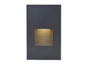 Satco Products, Inc. 65-401 Satco 3 Watt Vertical LED Step Light, Bronze Finish, 3000K, 120 Volt