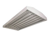 "Sunlite 90337-SU FIX/GRM/HB-6-32T8 UVC 6 Lamp T8 216W 48"" Strip Fixture 120-277v 1500sqft with Motion Sensor"