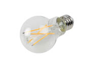 Bulbrite 776774 LED8A19/27K/FIL/3/JA8 Dimmable 8.5W 2700K A19 Filament LED Bulb, Enclosed and Wet Rated, JA8 Compliant