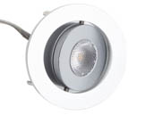 Diode LED DI-SPOT-RG2-30-20-BA 2.1 Watt 20° SPOTMOD 2 Dimmable Recessed Gimbal LED Fixture For Wet or Dry Locations, 12 Volt
