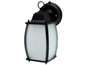 MaxLite 96974 ML4LS12SRLBK827 Maxlite 12 Watt Ranch Style Outdoor Integrated LED Lantern Fixture With Photocell