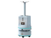 Axenic-UV Haze Bot Wifi Intelligent Atomizing Disinfecting Robot