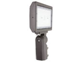 MaxLite 104194 MSF70UW-CSBSKRPC Maxlite 175 Watt HID Equivalent, 70 Watt Color Selectable (3000K/4000K/5000K) Slim LED Flood Light Fixture With Slipfitter Mount and Photocell