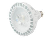 TCP L30P38D2550KFL Dimmable 120V 30 Watt 5000K 40 Degree PAR38 LED Bulb, Wet Rated