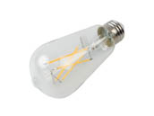 Bulbrite 776769 LED8ST18/30K/FIL/3/JA8 Dimmable 8.5W 3000K 90 CRI ST18 Filament LED Bulb, JA8 Compliant, Outdoor and Enclosed Rated