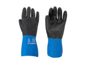 Larson Electronics IND-MD-DF-ESF-XX-ASG Large Anti-static Gloves Chemical Resistant Large 26mm Thick