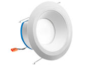 "Juno Lighting 25833C J6AI DB 10LM TUWH 90CRI 120 WWH DWNL Juno AI 16.5 Watt 6"" Tunable White Connected Downlight, Works With Alexa"