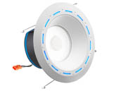 "Juno Lighting 258332 J6AI DB 10LM TUWH 90CRI 120 WWH JBL ALXA Juno AI 16.5 Watt 6"" Tunable White Connected Downlight With JBL Speaker and  Alexa Built-In"