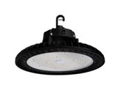 Commercial LED CLU11-150WRD1-BK50 400 Watt Equivalent, 150 Watt Dimmable 5000K Round UFO LED High Bay Fixture