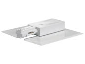 Satco Products, Inc. TP152 LIVE END FEED/CANOPY WHITE Satco Live End With Canopy For White Track