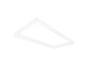 TCP DTSK4 Surface Mount Kit For 2X4 Back Lit Flat Panel Fixture