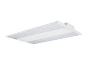 Value Brand MLH04130W27V50KCD 400 HID Equivalent, 130 Watt Dimmable 5000K LED High Bay Linear Fixture