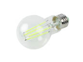 TCP RFLA19GR Non-Dimmable 8 Watt Green A19 Filament LED Bulb