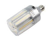 Light Efficient Design LED-8029E345-A 150 Watt Equivalent, 24 Watt Color Adjustable (3000K/4000K/5000K) LED Corn Bulb, Ballast Bypass