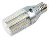 Light Efficient Design LED-8039M345-A 100 Watt Equivalent, 18 Watt Color Adjustable (3000K/4000K/5000K) LED Corn Bulb, Ballast Bypass, Mogul Base