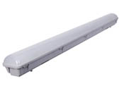 "GlobaLux Lighting LVTS-45-MVD-830/40/50 GlobaLux 45 Watt, 48"" Color Selectable (3000K/4000K/5000K) Dimmable Vapor Tight LED Fixture"