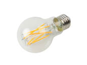 Bulbrite 776813 LED9A19/27K/FIL/3 Dimmable 9W 2700K 90 CRI A19 Filament LED Bulb, Enclosed Fixture and Wet Rated