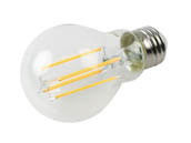 Bulbrite 776688 LED7A19/27K/FIL/D/B Dimmable 7 Watt 2700K A19 Filament LED Bulb, Enclosed Fixture Rated