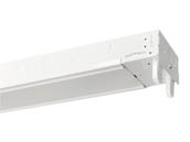 "Superior Life 55641 48"" LED Strip Fixture For 2 T8s LED Ready 48"" Strip Fixture Uses 2 Single or Double-Ended LED Bulbs (Sold Separately)"