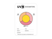 Light Efficient Design LC-UVC-TRICARD-10PK LumiCleanse UVC Dosimeter Measuring Card