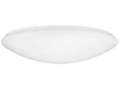 "Sunlite 87749-SU LFX/MU/15""/25W/SCT 15"" Round LED Color Selectable (27K/30K/35K/40K/50K) Dimmable Ceiling Fixture"