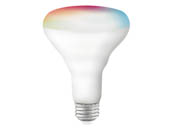 Satco Products, Inc. S11257 9.5BR30/LED/RGB/TW/T20/SF Satco Starfish 9.5 Watt Smart Wi-Fi Color Changing and Tunable White LED BR30  Lamp, Title 20 Certified