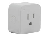 Satco Products, Inc. S11269 10A/SMART-PLUG/SF/2PK (MINI SQ) Satco Starfish WiFi Smart Mini Square Plug-In Outlet, 10 Amp