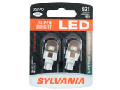 Sylvania 31896 ZEVO2 G2 921LED.BP2 EN-SP 2/SKU 72/CS 921 ZEVO LED Mini Auto Bulb