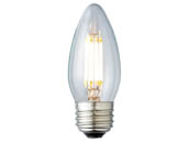 Archipelago Lighting A-LTB10C50027MB LTB10C50027MB Dimmable 4.5W 2700K Decorative Filament LED Bulb, Enclosed Fixture and Outdoor Rated