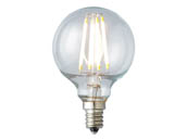 Archipelago Lighting A-LTG165C50027CB LTG165C50027CB Dimmable 4W 2700K G-16.5 Filament LED Bulb, Enclosed Fixture and Outdoor Rated
