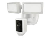 Feit Electric SEC3000/CAM/WIFI Feit 39 Watt Dual Head Motion Sensor Security Flood Light With Smart Camera