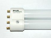 Philips Lighting 345058 PL-L 24W/30  (4-Pin) Philips 24W 4 Pin 2G11 Soft White Long Single Twin Tube CFL Bulb