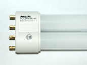 Philips Lighting 345082 PL-L 24W/41  (4-Pin) Philips 24W 4 Pin 2G11 Cool White Long Single Twin Tube CFL Bulb