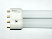 Philips 50W 4 Pin 2G11 Soft White Long Single Twin Tube CFL Bulb