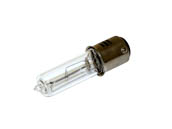 Philips Lighting 442780 100Q/CL/DC (ESR) Philips 100W 120V T4 Clear Halogen Double Contact Bayonet ESR Bulb