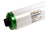 Philips Lighting P369785 F48T12/CW-HO-PH-SGT (Safety) 60 Watt, 48 Inch T12 High Output Cool White Safety Coated Fluorescent Bulb