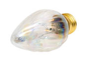 Bulbrite 421125 25F15CL 25W 130V F15 Clear Fiesta Decorative Bulb, E26 Base