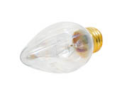 Bulbrite 421140 40F15CL 40W 130V F15 Clear Fiesta Decorative Bulb, E26 Base