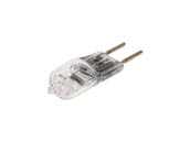 Bulbrite 650050 Q50GY6/12 50W 12V T3 Clear Halogen 6.35mm Bipin Bulb