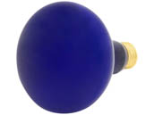Westinghouse 75W 130V BR30 Blue Reflector Bulb, E26 Base