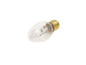 Bulbrite 709107 7C7C (Clear) 7W 120V C7 Clear Night Light E12 Base