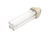 Philips Lighting 383273 PL-C 13W/835/4P/ALTO (4 Pin) Philips 13W 4 Pin G24q1 Neutral White Double Twin Tube CFL Bulb
