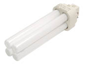 Philips Lighting 383281 PL-C 13W/841/4P/ALTO (4 Pin) Philips 13W 4 Pin G24q1 Cool White Double Twin Tube CFL Bulb