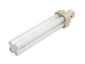 Philips Lighting 383224 PL-C 26W/830/ALTO  (2-Pin) Philips 26W 2 Pin G24d3 Soft White Double Twin Tube CFL Bulb