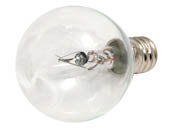 Bulbrite B461025 KR25G11CL 25W 120V Clear Krypton G11 Globe Decorative Bulb, E12 Base