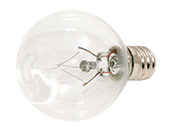 Bulbrite 15W 120V Clear Krypton G11 Globe Decorative Bulb, E12 Base