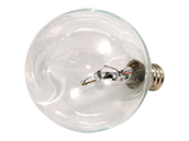 Bulbrite 25W Clear Krypton G16 Decorative Bulb, E12 Base