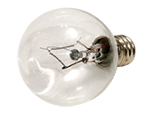 Bulbrite 40W 120V Clear Krypton G11 Globe Decorative Bulb, E12 Base