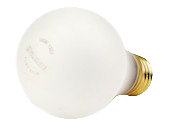 Bulbrite 100W 130V A19 Rough Service Safety Coated Bulb, E26 Base