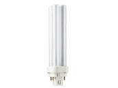 Philips 18W 4 Pin G24q2 Very Warm White Double Twin Tube CFL Bulb